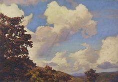 Autumn Mountain Landscape. Artist unidentified. Smithsonian American Art Museum http://americanart.si.edu/collections/search/artwork/?id=24449