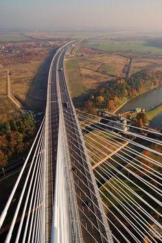 Bridge in Wroclaw, Poland