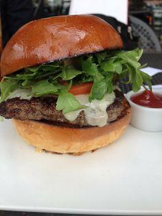 Burger at LAMILL Coffee Boutique (Los Angeles, CA). #UniqueEats #burger