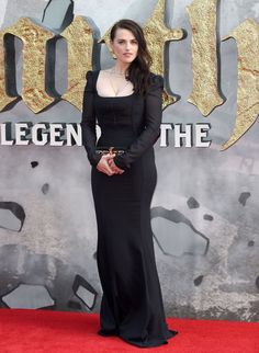 It is so cool that she was in a King Arthur movie.... XD