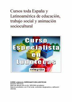 Curso Especialista en Ludotecas
