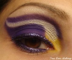 True Love Makeup: I love Football! Gonna do this for the opening Game! :)