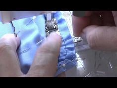 Teach Yourself to Sew: How to Sew a Sleeve - Threads Magazine Part 2....shows the sleeve being sewn