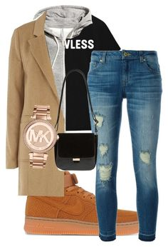 """"""""""" by rabiamiah on Polyvore featuring NIKE, H&M, mel, MICHAEL Michael Kors, Nu-G and Michael Kors"""