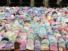 AllFreeCrochet would like to be the first to thank each and every one of you for helping out with our Baby Hat Charity Drive. We cannot believe how unbelievably generous you all are. We received a grand total of 1,788 baby hats!!