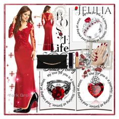 """Jeulia Jewelry"" by lip-balm ❤ liked on Polyvore featuring Polaroid, Christian Louboutin, Carvela Kurt Geiger and Chanel"