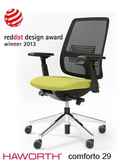 Haworth Comforto bureaustoel 29 - Objectform bv