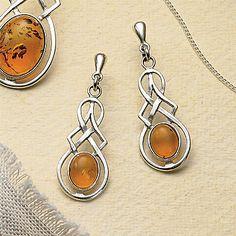 Kells Amber Earrings