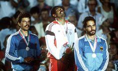 Daley Thompson Decathlon win at 1984 Olympics