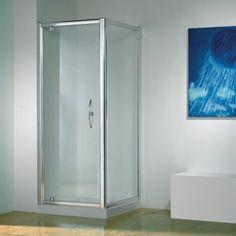 Only pivot shower door
