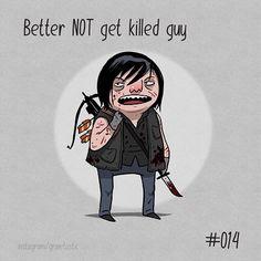 If Daryl dies we riot. #wickedcrispy #dailysketch #dailycosplay #twd #daryldixon #thewalkingdead by grinetastic