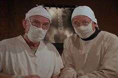 M*A*S*H: Season 6, Episode 12 Comrades in Arms: Part 2 (6 Dec. 1977) mash, 4077, Harry Morgan ., Colonel Sherman T. Potter, William Christopher , Father Francis Mulcahy