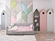 Kids Tips And Techniques For Apple iPhone Kids Bed Design, Kids Bedroom Designs, Girls Room Paint, Cool Kids Rooms, Daughters Room, Suites, Baby Bedroom, Kid Spaces, Kids Furniture