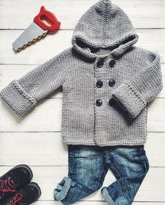 Купить Вязаное пальто-кардиган - вязаное пальто, детский кардиган, кардиган для мальчика, пальто для мальчика