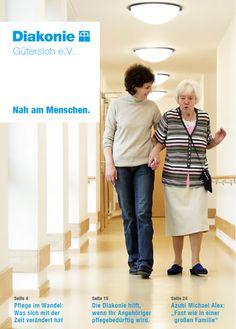 Diakonie-Broschüre: Nah am Menschen