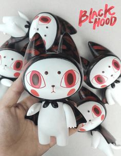 BlackhooD Cat Vinyl Edition 02 Mechanical Animals By Mueanfun Illusion x Kidult Toy   The Toy Chronicle