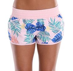 Roxy Girl Womens Shorts Boardshorts Surfshort Hotpants Beach Short black /& pink