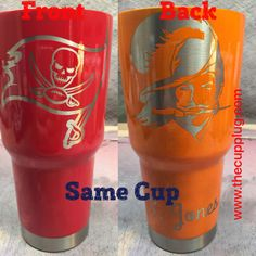 A personal favorite from my Etsy shop https://www.etsy.com/listing/514235525/custom-powder-coated-cups-tampa-bay-bucs
