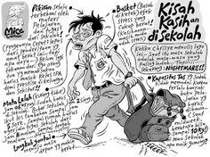 Mice Cartoon, #KomikJakarta: Kisah Kasih-an Di Sekolah