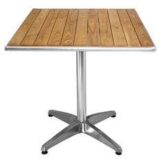 http://ift.tt/1YpXcwH Bolero Ash Top Bistrotisch mit Aluminium-Felge Ash-gekrönt. Gusseisen Basis. 720 (h) x 700 (B) x 700 (T) mm. @salesiiju@