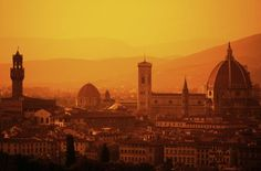 Sunset in Florence, #Italy