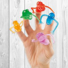BUY NOW: Finger Monsters A shocking assortment of monster finger puppets that children will love to play with.  Only £2.25 (pack of 10)
