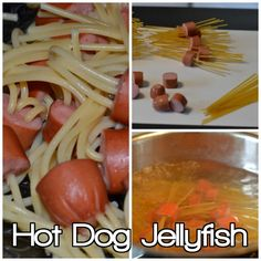 Going Under the Sea for the Homeschool Lunch Project with Hot Dog Jellyfish!! Fun!  http://adventuresofacouponista.com/?p=44402