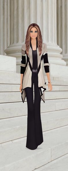 Covet Fashion game...style by Rosi
