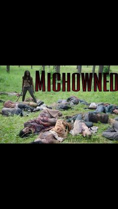 Michowned. I know who I am most excited to see in October! She is my all-time favorite!! Michonne is #sobenjen