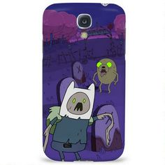 Adventure Time Zombie Finn and Jake Phone Case for iPhone and Galaxy