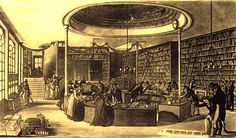 The Temple of the Muses was a   bookshop located on Finsbury Square.