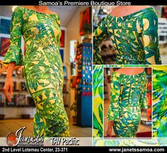 Presenting New TAV Clothing in Store at Janet's – TAV Pacific Style DB67-B…