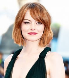 Emma Stone | The 10 Best Celebrity Haircuts of 2014 via @byrdiebeauty