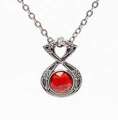 Celtic Serpent Stone Necklace [J030] - $8.99 : Mystic Crypt, the most unique, hard to find items at ghoulishly great prices!