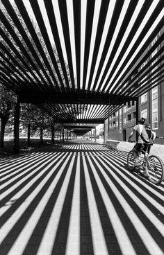 Line, positive/negative space | architecture pattern | surface pattern design