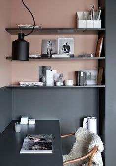 Marvelous 101 Pink And Grey Office Design Ideas https://decoratio.co/2017/05/101-pink-grey-office-design-ideas/ It's possible that you already have a metallic chair in your home that will do the job. It's unquestionably a statement chair for certain, but this's just what I was going for.