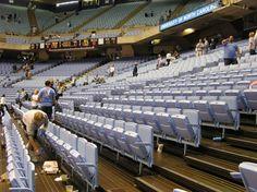 University of North Carolina - Chapel Hill, NC. I will never forget the Carolina Blue seats!  March '99
