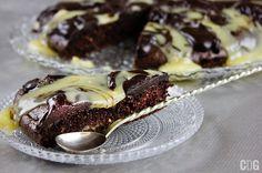 Ciasto jaglane z czekoladą   Chocolate Millet Cake