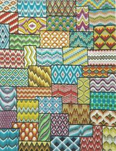 bargello sampler  Tonyshandwerkblog.blogspot.com