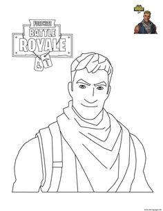 Fortnite Battle Royale Coloring