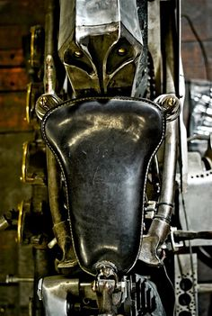 """1946 HD """" Spike"""" from Chabott Engineering.  Love the seat"""