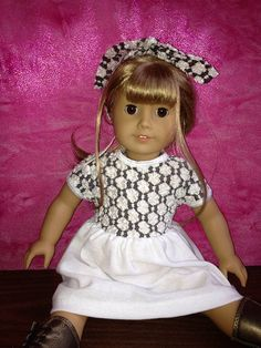 American Girl Doll Clothes Dress Easter Party by JustSewNouveau
