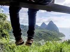 Lucia adventure holidays, outdoor pursuits, sulphur springs and mud baths Pitons St Lucia, St Lucia Caribbean, Famous Twins, Sulphur Springs, Adventure Holiday, Sandy Beaches, Lush Green, Rum, Travel Inspiration