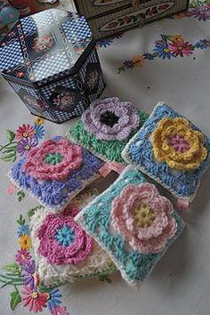 Sachet pillows