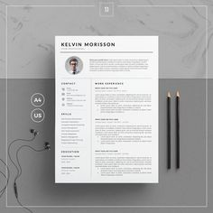 """Thanks for the kind words! ★★★★★ """"Awesome, looks really professional! Thanks very much."""" HelenP123 http://etsy.me/2jNiAip #etsy #art #print #digital #resumetemplate #cvtemplate #cleanresume #resumewithphoto #resumetemplateword #cleanresumeword"""