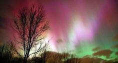 Gaze at the Aurora Borealis