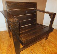 Modern Adirondack Chair by THHCreations on Etsy