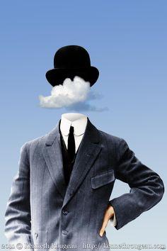 no hay como lo de uno: Magritte revisitado (76)