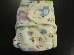 Elephants & Candy Newborn Fitted Bamboo Cloth by greenbumkin, $18.00