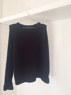 eac9f9eeff2c Topshop thick black knit jumper - oversized size 10. Any questions or  queries please get